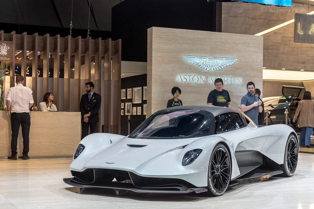 Aston Martin Valhalla (Project 003) in Geneva, March 2019